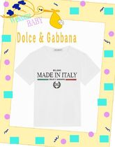 【Dolce&Gabbana】Tシャツ ジャージー MADE IN ITALY プリント