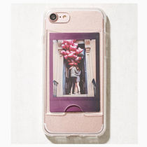 [Urban Outfitters] 写真入れ iPhoneケース クリア チェキ入れ