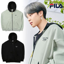FILA☆BTS♪ジミン着用☆EXPLORE HOOD ZIP UP☆
