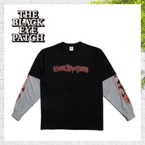 【BlackEyePatch】Layered LS Tee ロゴ Tシャツ ロングスリーブ