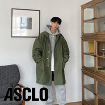 Can S/S Overfit High Neck Field Coat (3color)