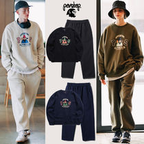 ★PERSTEP★人気★Alpine Sweatshirt+Cover Wide Training Pants