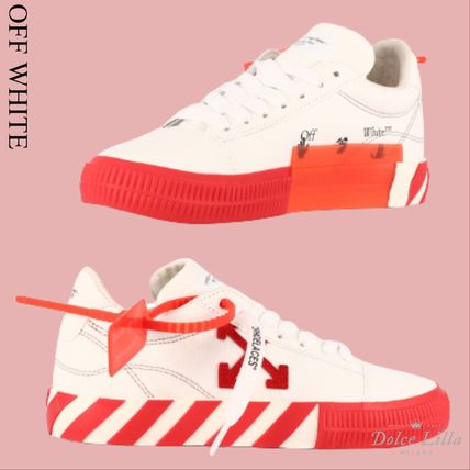 OFF WHITE Low vulcanized sneakers