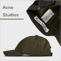 【Acne Studios】国内発送 ロゴ入り ナイロンキャップ