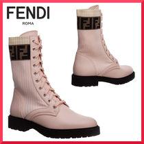 【FENDI】Women's leather ankle boots booties ブーツ