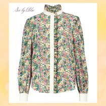 """☆See by Chloe☆ """"Floral Meadow""""フリル装飾・シルクブラウス♪"""
