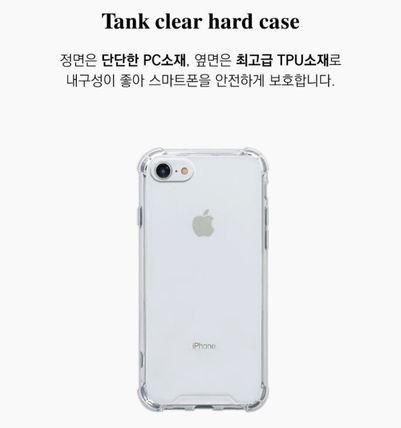 iPhone・スマホケース Mademoment☆韓国☆Vintage Butterfly Frame Tank Clear Case(4)