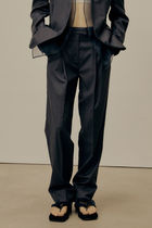 21SS ☆ [LOW CLASSIC]/ LAYERED TROUSER / NAVY