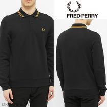 FRED PERRY(フレッドペリー) ポロシャツ 【Fred Perry】ロゴ Twin Tipped PoloShirt ブラック 送関込
