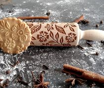 Rolling Pin Collection クッキー ローリング ピン cookie 型 花