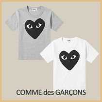COMME des GARCONS(コムデギャルソン) キッズ用トップス 【COMME DES GARCONS PLAY】ビッグ ブラックハート Tシャツ