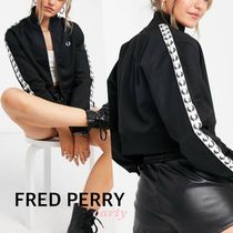 FRED PERRY(フレッドペリー) ジャケット 【FRED PERRY】テープトラックジャケット 送料・関税込み