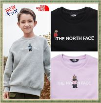 【THE NORTH FACE】★キッズ★BRUSHED OSO GRAPHIC SWEATSHIRTS