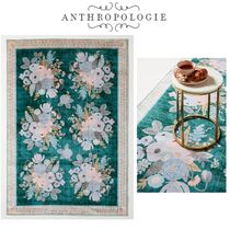 【ANTHROPOLOGIE】Rifle Paper Co.x Loloi ラグ  60.9×91.4㎝