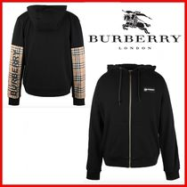◆Burberry◆Vintage Check Panel Hooded◆正規品◆