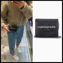 ☆Calvin Klein☆  チェーンフレンチフラップ 財布 正規品