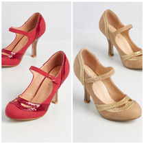 modcloth(モドクロス) パンプス 国内送料無料♪Gilded in Grace Heel*ヒールパンプス