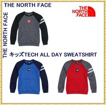 【THE NORTH FACE】★キッズ★K'S TECH ALL DAY SWEATSHIRT