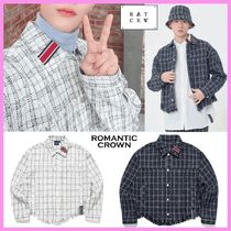 CIX スンフン着用☆TWEED TRUCKER JACKET☆全2色/ROMANTIC CROWN