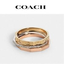 Coach(コーチ) 指輪・リング COACH ◆ tri color ring set