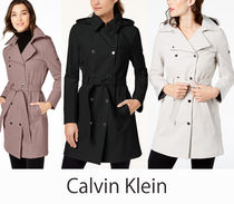 Calvin Klein★Water-Resistant Trenchトレンチコート(追跡付き)