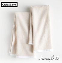 【Crate and Barrel】日本未入荷☆Almond Texturedタオルセット