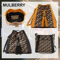 【直営店】Mulberry★Small Millie M Jacquard トートバッグ