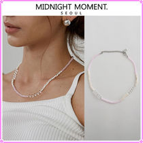 【MIDNIGHT MOMENT.】pink quartz necklace〜ネックレス★2021SS