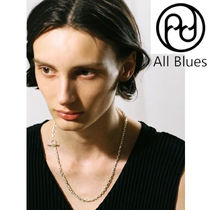 ALL Blues*アンカーネックレス Y4283