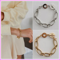 【MIDNIGHT MOMENT.】oval bracelet gold/silver〜ブレスレット