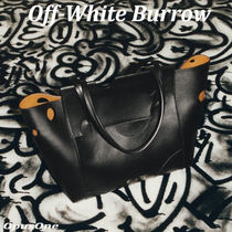 Off-White Burrow shopping トートバッグ