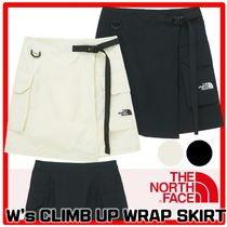☆新作☆THE NORTH FACE☆W'S CLIMB UP WRAP SKIR.T☆スカート