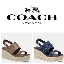 新作セール!Coach★Kami Wedge Sandal