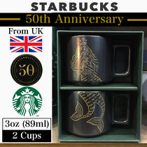 ◆50th Anniversary◆STARBUCKS◆SMALL MUG◆3oz◆2カップ◆
