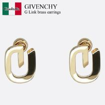 Givenchy G Link brass ピアス