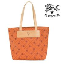 SALE!IL BISONTE♪キュート★レザートートバッグ