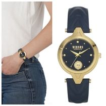 【SALE☆★レア】VERSUS VERSACE FORLANNI LEATHER WATCH