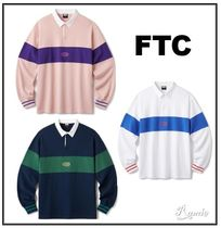 【FTC】PANEL RUGBY SHIRT◆ラグビーボーダーシャツ