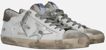 【GOLDEN GOOSE】SNEAKERS SUPER-STAR SUEDE / GMF00101 WHITE