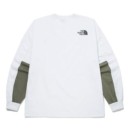 THE NORTH FACE Tシャツ・カットソー ★THE NORTH FACE★送料込★韓国★人気 ALBANY CREWNECK NM5MM04(18)