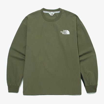 THE NORTH FACE Tシャツ・カットソー ★THE NORTH FACE★送料込★韓国★人気 ALBANY CREWNECK NM5MM04(20)
