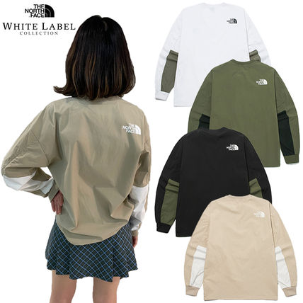THE NORTH FACE Tシャツ・カットソー ★THE NORTH FACE★送料込★韓国★人気 ALBANY CREWNECK NM5MM04