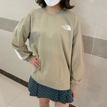 THE NORTH FACE Tシャツ・カットソー ★THE NORTH FACE★送料込★韓国★人気 ALBANY CREWNECK NM5MM04(4)