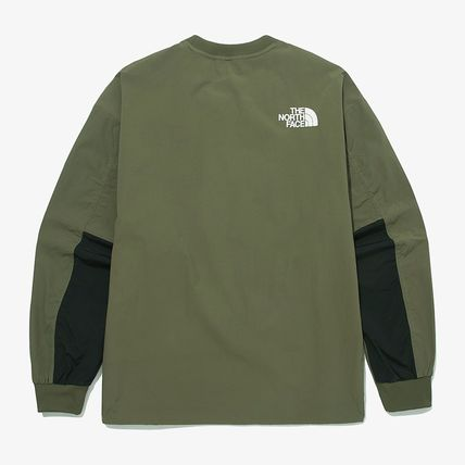 THE NORTH FACE Tシャツ・カットソー ★THE NORTH FACE★送料込★韓国★人気 ALBANY CREWNECK NM5MM04(19)