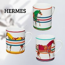 HERMES★ Cheval a laCouverture マグカップ 3セット