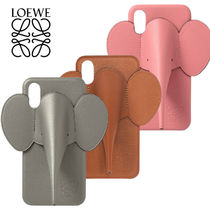 LOEWE 【関税込み*送料無料】iPhone X/XS エレファントカバー