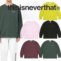 ★thisisneverthat★Small T-Logo L/SL Top