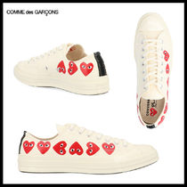 『Comme des garcons』with a Heartスニーカー
