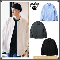PERSTEPのMatch Over fit Shirt 全4色
