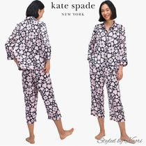 KATE SPADE スペード クローバー ハート 長袖 パジャマ セット